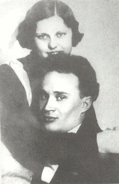 Павел Васильев с женой Еленой Вяловой