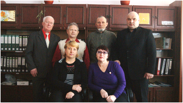 Актив межрайонного музыкально-поэтического клуба «Глубинка»