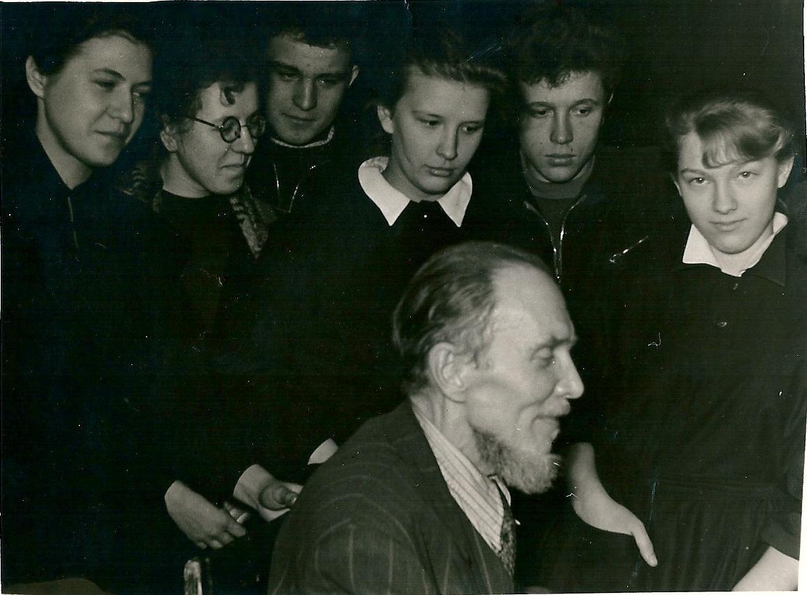 Ачаир и его ученики, 1960 год