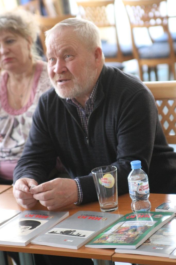 """М.Н. Щукин, новосибирский писатель, главный редактор журнала """"Сибирские огни"""""""