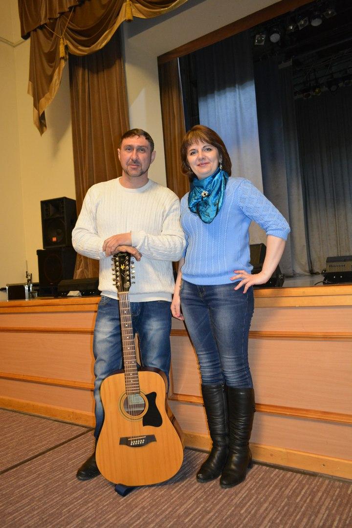 Николай Столетов и Елена Соболева (Пурис)