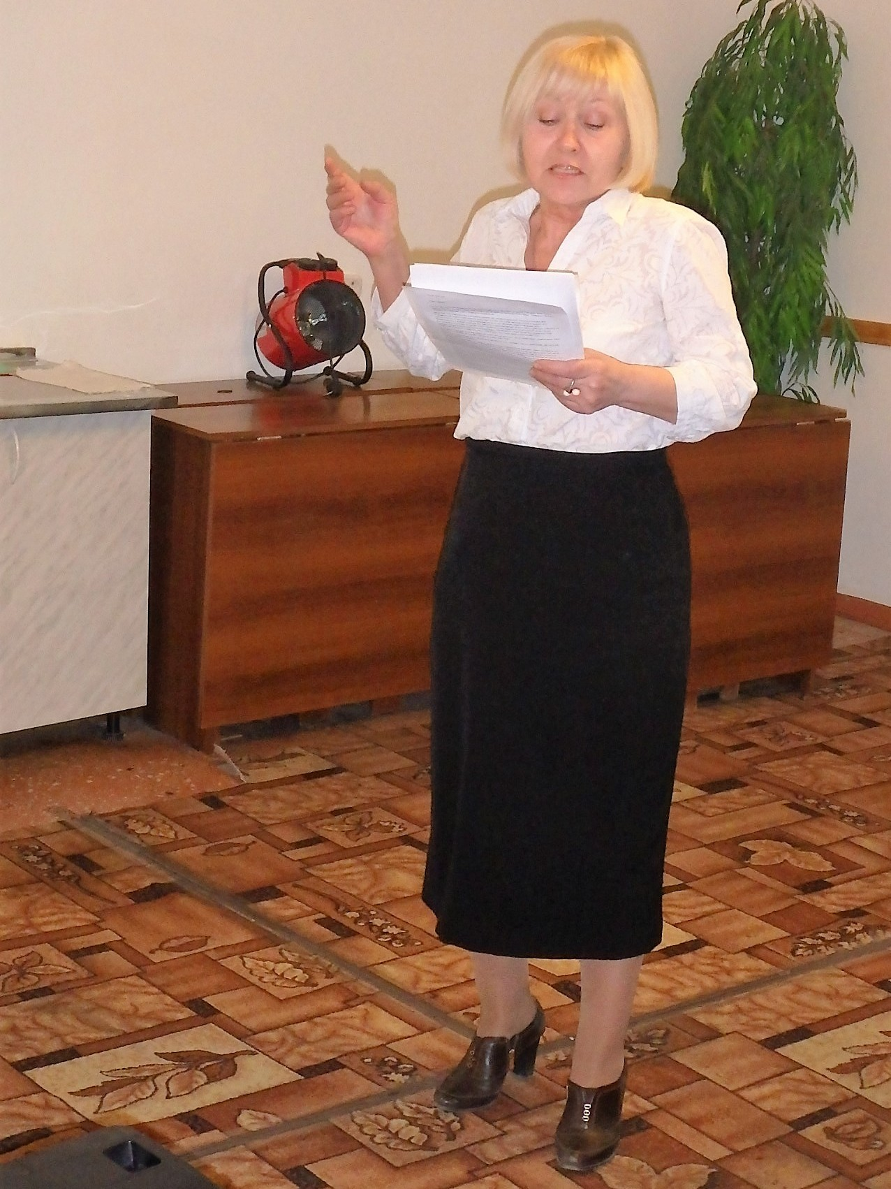Мария Каменская читает стихи Саши Чёрного