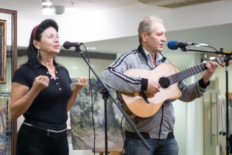 Вера Ермакова и Владимир Кутернин