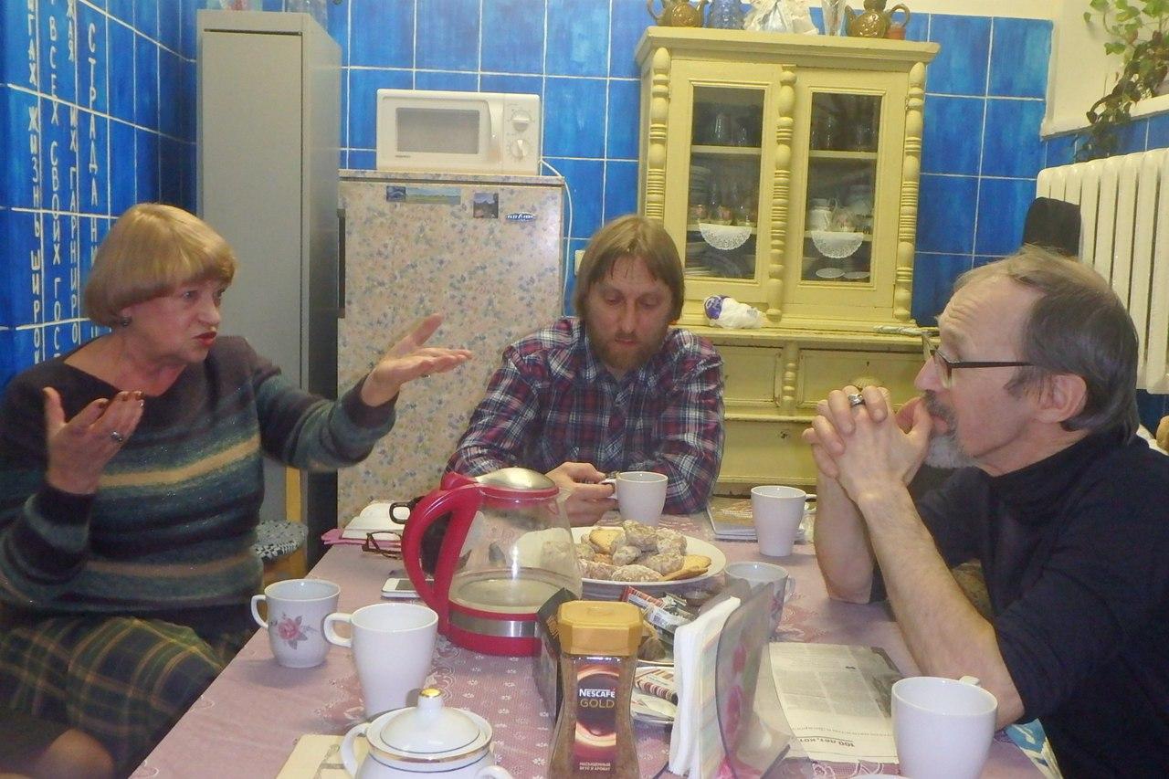 Алла Моргун, Алексей Грачёв, Андрей Дорофеев