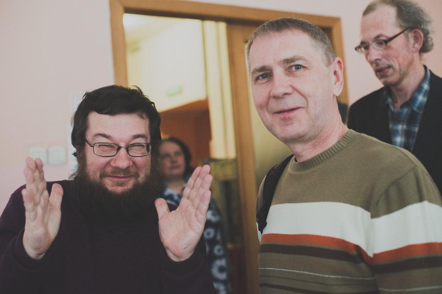 Юрий Татаренко и Дмитрий Рябов
