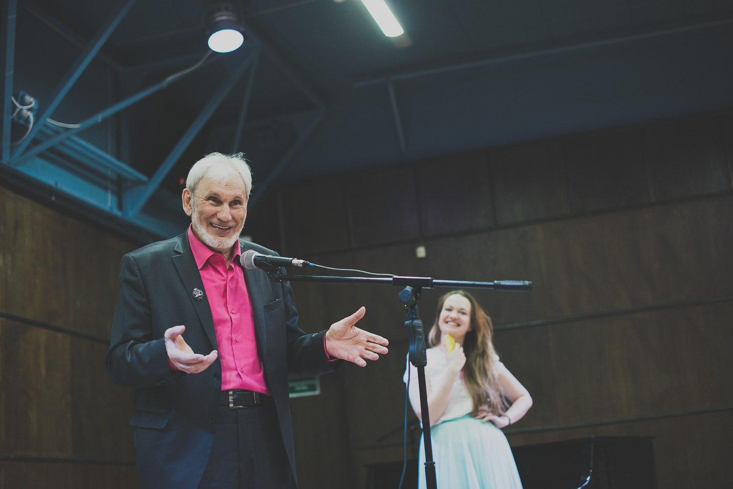 Геннадий Прашкевич и Саша Зайцева