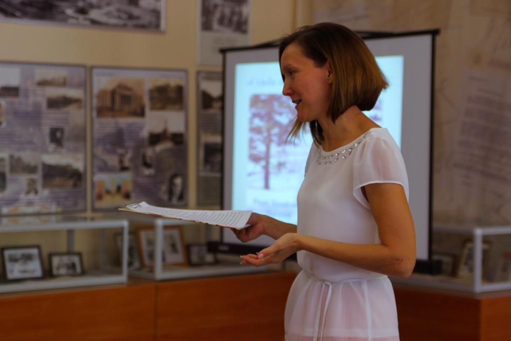 Е.А. Полещук, сотрудник Центра истории новосибирской книги