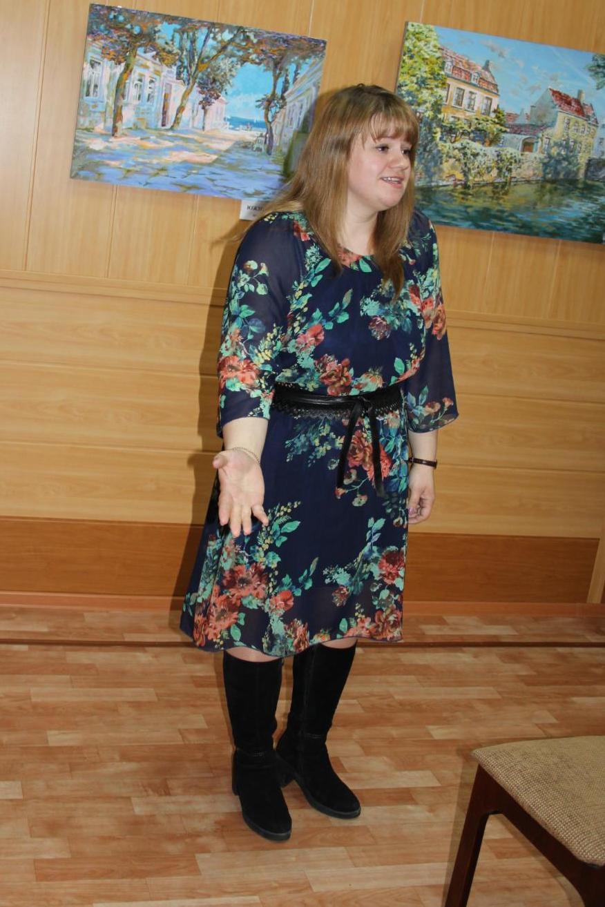 Редактор и член литобъединения Екатерина Транкина