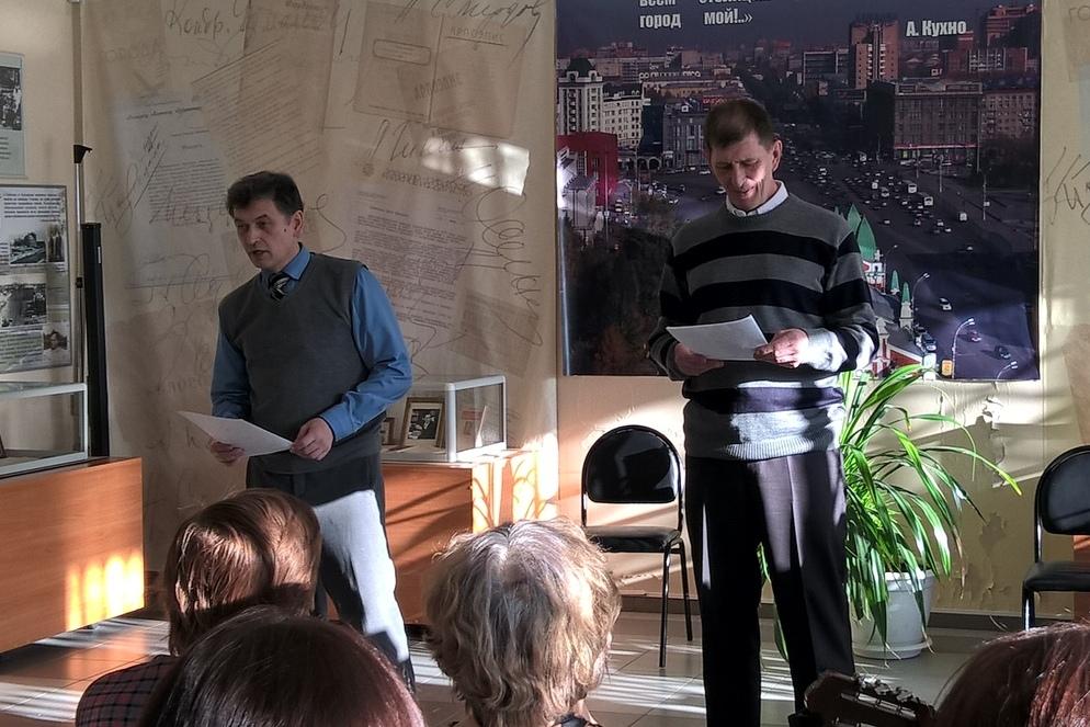Костантин Мишенин и Сергей Шепелев