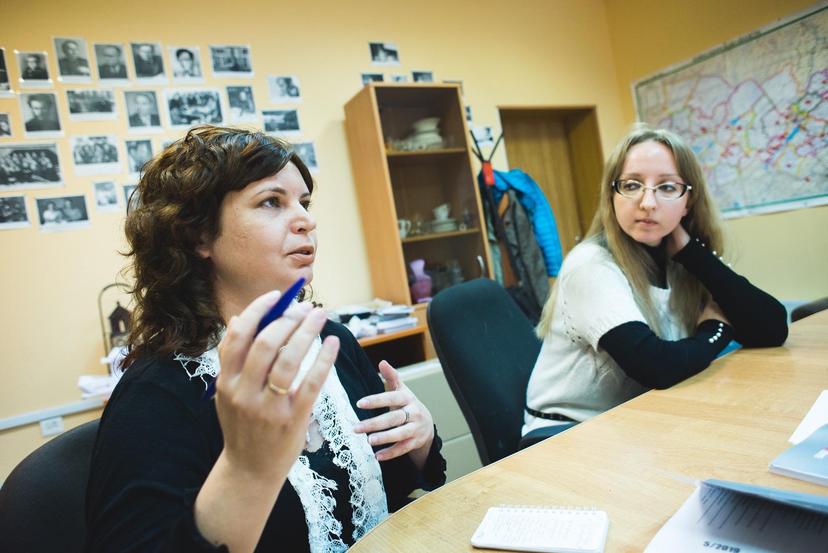 Елена Богданова и Юлия Федорищева