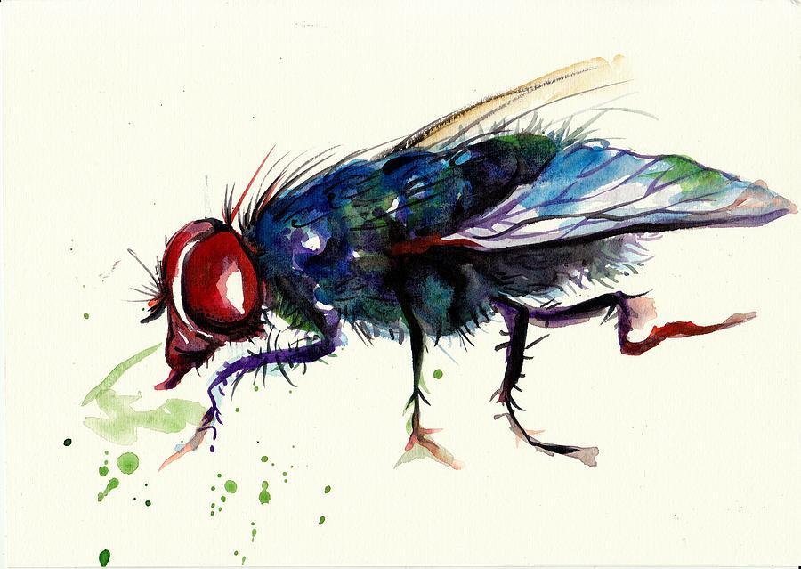 Вдохновение на крылышках мухи