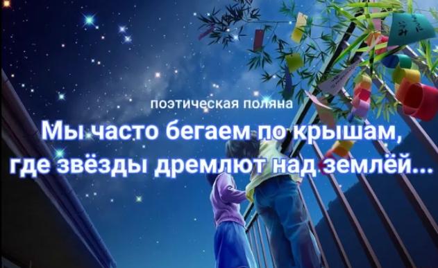Онлайн-встреча участников проекта «Поэтическая Поляна»: летняя романтика