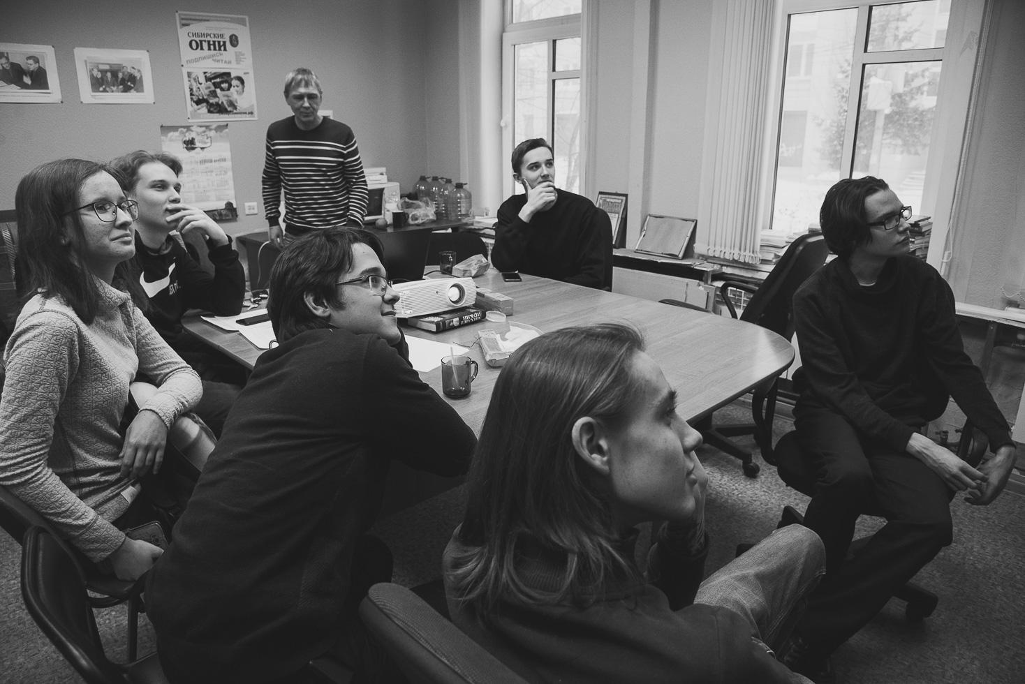 Первая посленовогодняя встреча молодых писателей в ЛИФТе