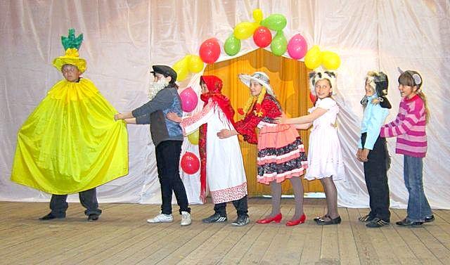Сценарий для театр экспромта для детей